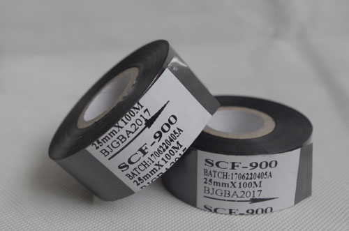 SCF-900 hot stamping foil to pr